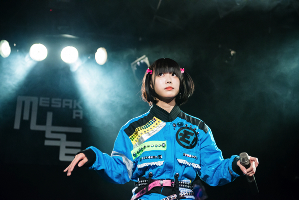 ゆるめるモ! 、女子限定で「動物園じゃん!」、1日3公演のシングル・ツアー大阪編をライヴレポート