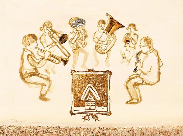 ゴンドウトモヒコの管楽器六重奏アンサンブル Gondo's Carol Brass Ensemble、Xmasアルバム発売決定