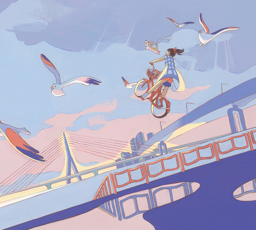 スカート、新作収録の「さよなら!さよなら!」が日本テレビ系「PON!」EDテーマに