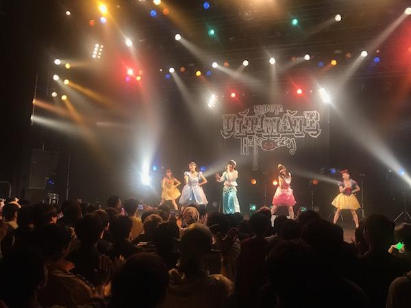 """ハロウィンの渋谷に""""わーすたプリンセス""""降臨!年末の生バンド・ライヴを発表"""