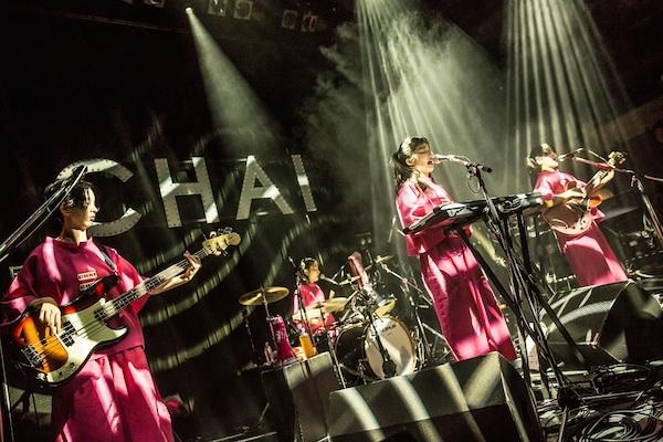 CHAI、来年3月に東京・大阪で〈春のCHAIまつり〉開催