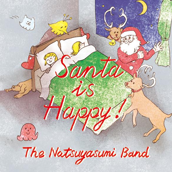 【本日19時配信開始! 】ザ・なつやすみバンド、クリスマス配信シングルをOTOTOY限定で配信開始