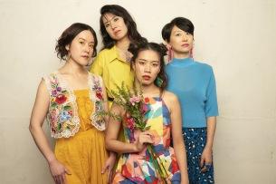 FALSETTOS、1stアルバム発売に向けて、阿部海太郎、テツマル、セイジ、巻上公一らアーティストからのコメント殺到