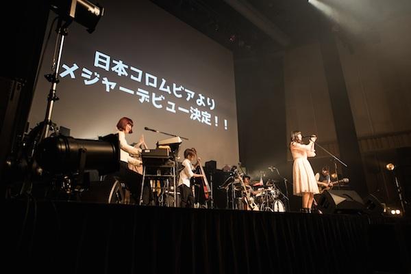 中村千尋、日本コロムビアから来夏メジャー・デビュー!自身初のホール・ワンマンで発表