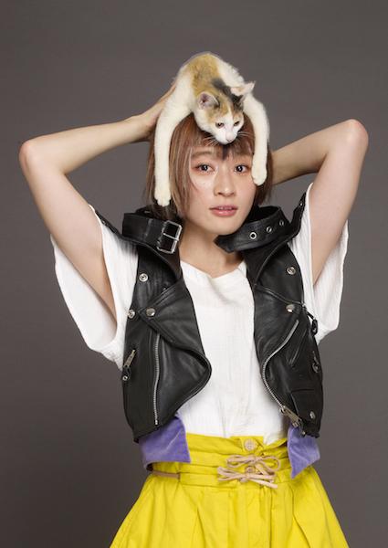 水カン・コムアイ、猫役で映画に初出演!峯田和伸&沢尻エリカらと共演