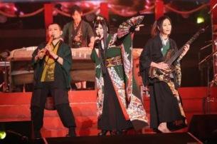 和楽器バンド、新しい大海原へ! 15,000人との横アリ大新年会に一青窈がサプライズ登場