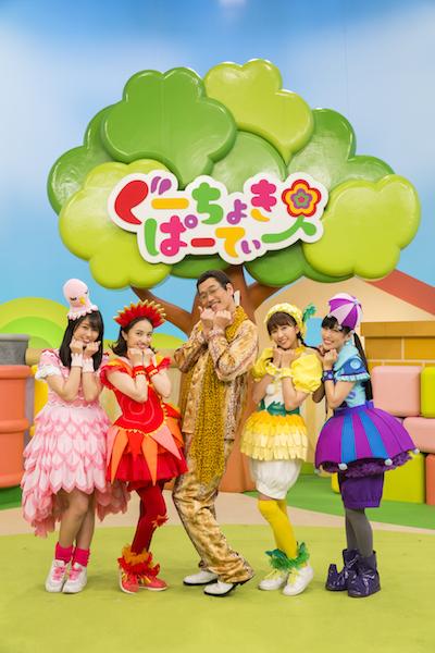 ももくろちゃんZ×ピコ太郎 まさかのコラボ!「PPAP」の姉妹曲「Vegetable」のMV公開