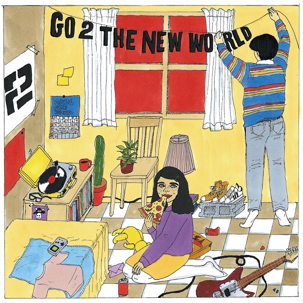 2、2ndアルバムリリース・ワンマンツアー〈GO TOUR THE NEW WORLD〉開催決定 アルバム表題曲MVも公開