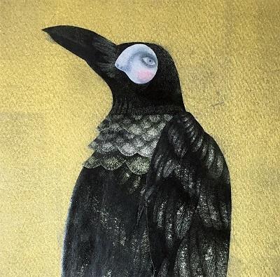 ザ・マイスティースの次松大助、5年半ぶりソロ新作のジャケ写は画家・松下さちこによる絵画