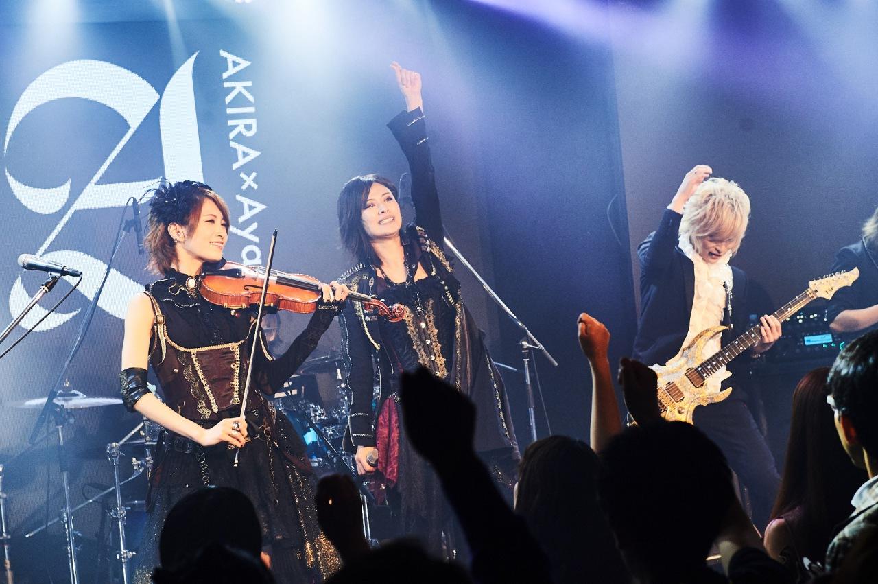 イケメン女子モデル・AKIRAとロックヴァイオリニスト・Ayasaのロック・ユニット『+A(プラスエー)』誕生