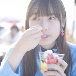 内田珠鈴、約20,000人が選んだ2ndプレデビューシングルのジャケ写公開