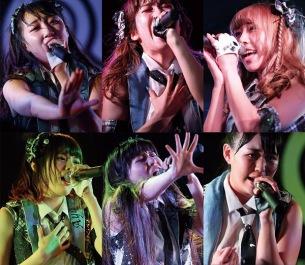 Q-pitch、8月定期公演より4ヶ月連続で新曲をリリース