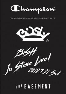 BiSH×championでコラボTシャツ! 発売日には渋谷でインストア・ライヴも!!