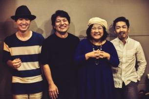マシータ、梅津拓也、杉浦琢雄、女性ヴォーカルを中心としたバンド『God bless you』を結成