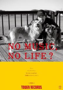 七尾旅人、タワレコ「NO MUSIC, NO LIFE.」ポスターに登場
