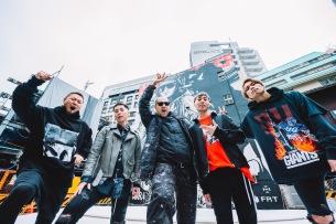 NOISEMAKER×WK Interact、渋谷巨壁ジャケットがついに完成
