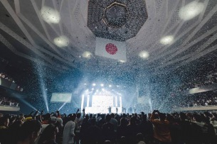【ライヴ・レポート】ヒップホップ・クルーのBAD HOP初の日本武道館公演、歴史的な一夜に