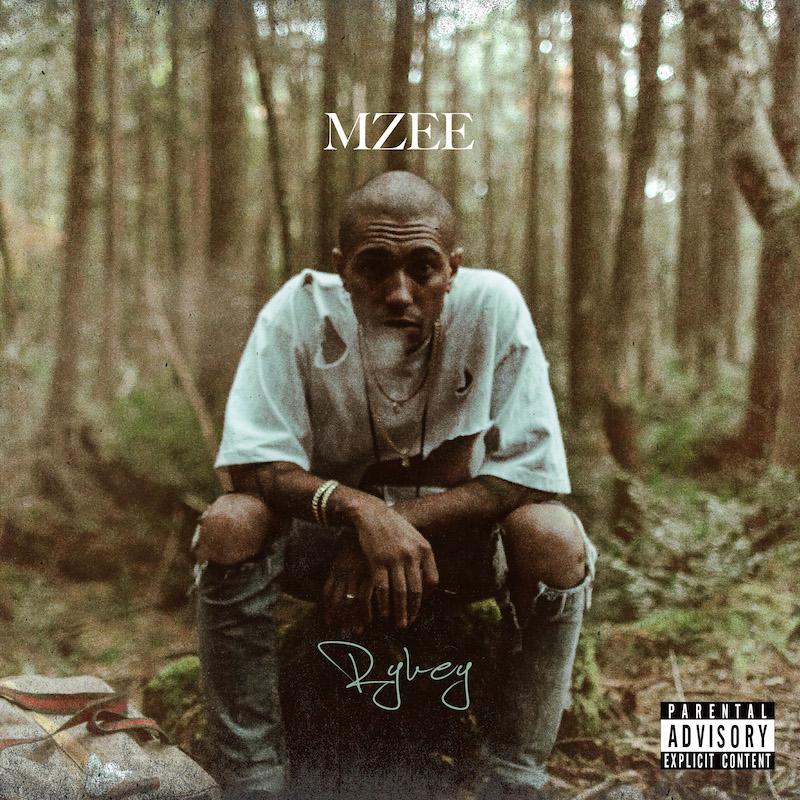 "RYKEY,第4张专辑""MZEE""发行的""ZERO feat.Cz TIGER""MV"