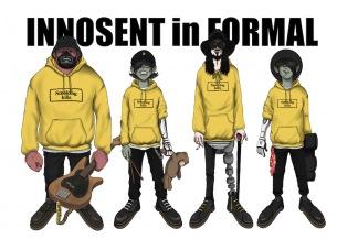 INNOSENT in FORMAL、新ミニアルバム発売、 #FR2とのコラボも実現、バンドの序章を描いたアニメーション動画も公開