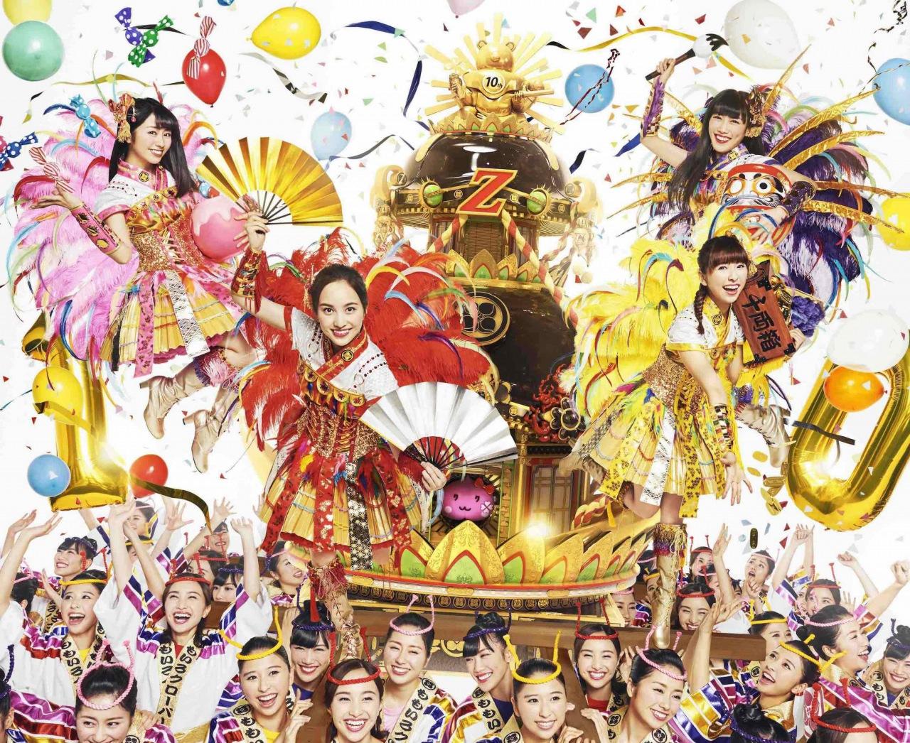 ももクロ、2nd ALBUM『5TH DIMENSION』収録曲をおさめた東京ドームでのライヴTrailerが公開
