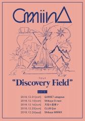 ガールズ・ユニットamiinA、2nd アルバム発売を記念した初となるツアー〈Discovery Field〉の追加出演者発表