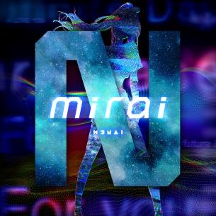 キズナアイ、9週連続リリースのラスト楽曲「mirai (Prod. ☆Taku Takahashi)」を本日リリース