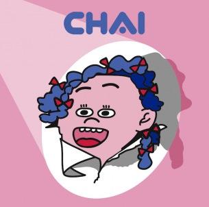 CHAI、2ndアルバム『PUNK』のジャケ写、収録曲情報を発表、本日NHK「クローズアップ現代+」でCHAI特集オンエア