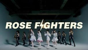 TEAM SHACHIに殴られる!?カメラを殴り続ける衝撃の「ROSE FIGHTERS」ミュージック・ビデオ公開