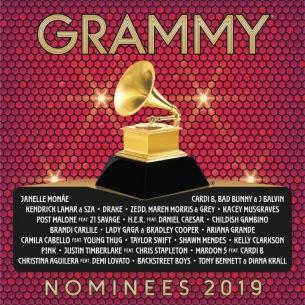 グラミー賞選出の2018年最大の洋楽ヒットコンピがリリース