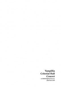 Vampilliaが100席限定の着席型ホールワンマン開催、制作中の新作より2曲披露