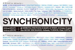 〈SYNCHRONICITY'19〉第4弾で28組追加発表