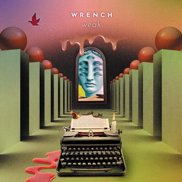 WRENCH、12年振りのオリジナル・フルアルバム『weak』を3月にリリース