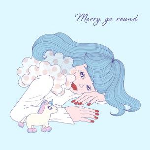 さとうもか、新アルバム『Merry go round』アルバム・ジャケット公開
