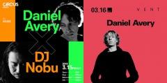 英エレクトロニック・プロデューサーDaniel Averyが東阪ツアーで来日決定