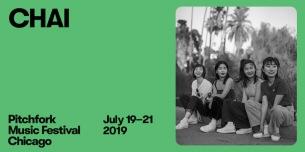 7月に開催される〈Pitchfork Music Festival〉にCHAIが日本人として唯一出演決定