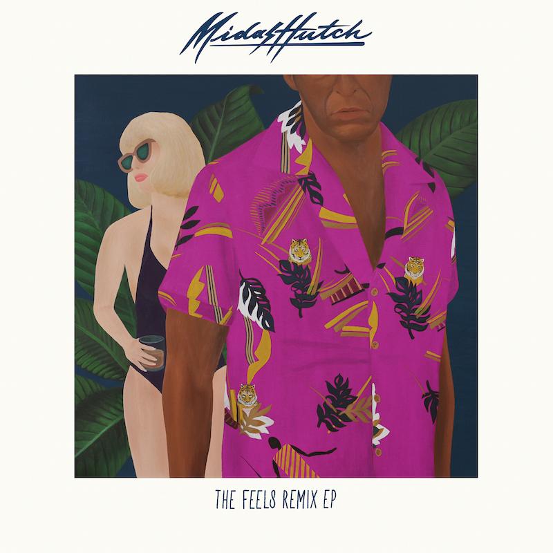 """Midas Hutch、豪華リミキサー陣を迎えたリミックス集『""""The Feels"""" (Remixes) – EP』を発表"""