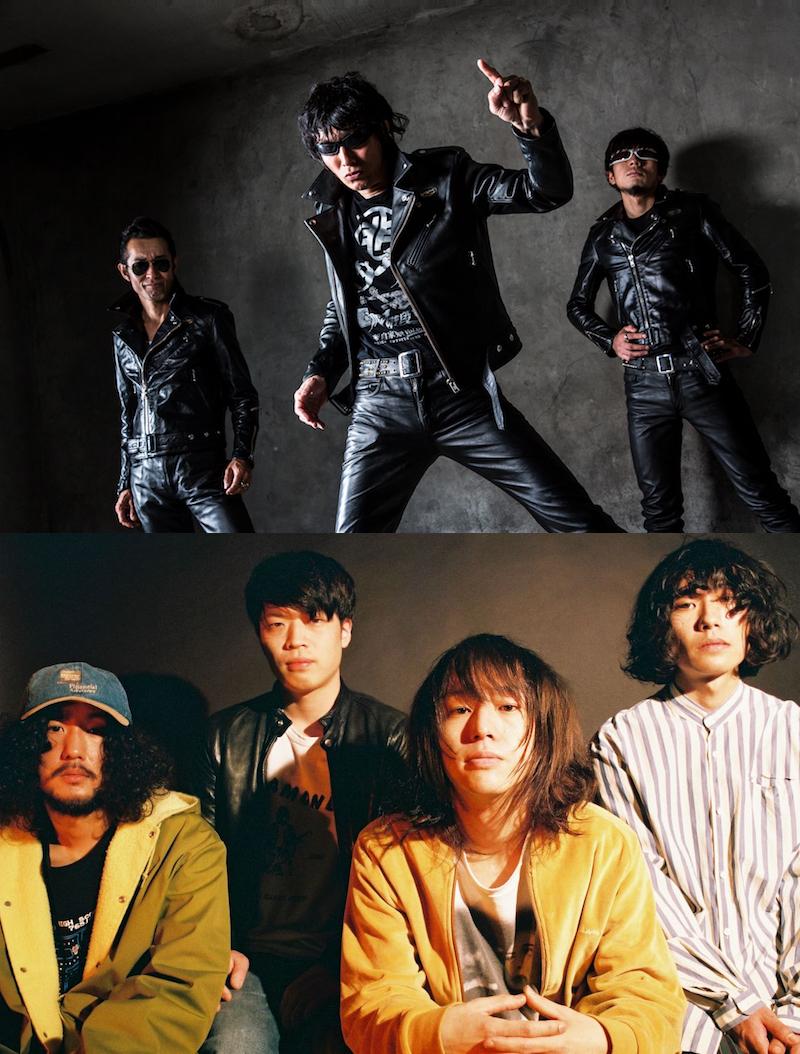 吉他狼x teto 2 Mans将于7月7日星期日(星期日)在新宿LOFT举行