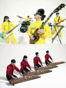 POLYSICS・The Vocoders、同メンバーによる別バンドの同一楽曲のMVを2作品一挙公開
