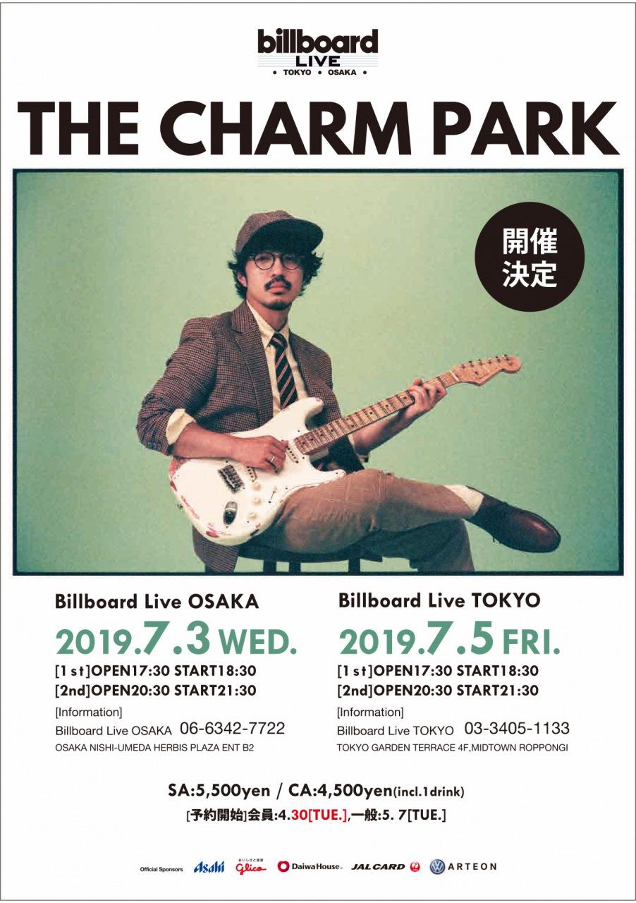 THE CHARM PARK、7月にビルボードライブ東京・大阪公演開催決定