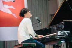 Sundayカミデ、東京都選定歴史的建造物にてピアノライヴ