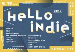〈HELLO INDIE 2019〉タイムテーブル発表