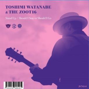 渡辺俊美 & The Zoot16によるTokyo No.1 Soul Setセルフ・カバーが7インチ化