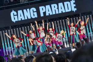 GANG PARADE、東阪野音ツアー『CHALLENGE the LIMIT TOUR』開幕