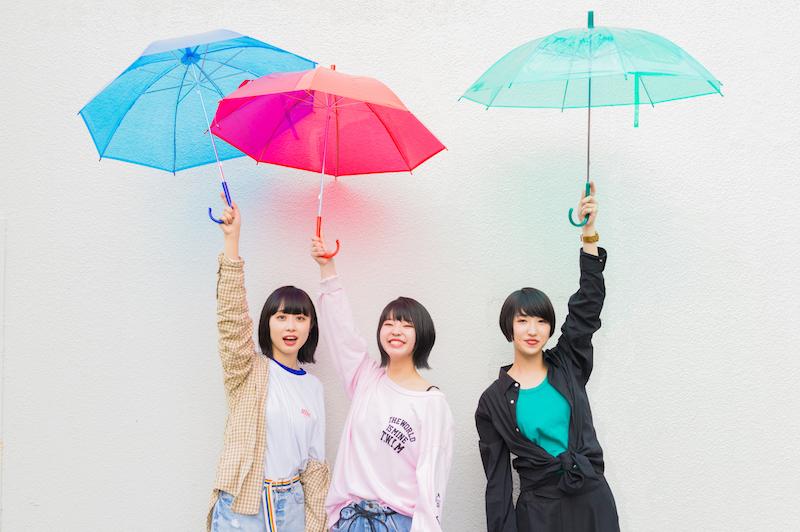 茨城水戸発3ピースロックバンドgoomieyが神戸女子大学WEB CM曲を担当