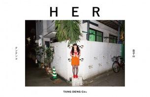 テンテンコ初の写真集「HER」発売&展示・ライヴイベント開催決定