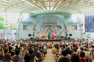 〈第8回パンダ音楽祭〉アーティスト&お客さんに愛されるフェスの光景―OTOTOYライヴレポ