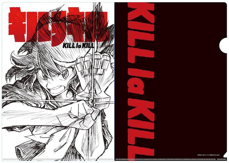 『キルラキル』Blu-ray Disc BOX&コンプリートサウンドトラック・ジャケット絵柄解禁
