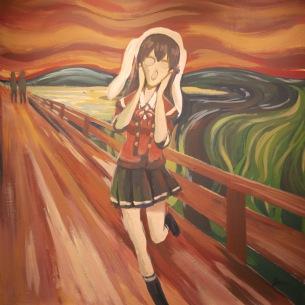 Vtuber初のアート界進出か、夢を叫ぶ響木アオの新曲「ユメスクリーム」がリリース