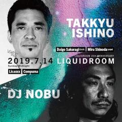 「石野卓球 / DJ NOBU」リキッドルーム15周年記念公演に追加出演者決定