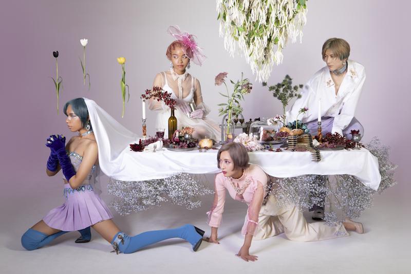 女王蜂が映画『東京喰種【S】』主題歌「Introduction」のMV公開